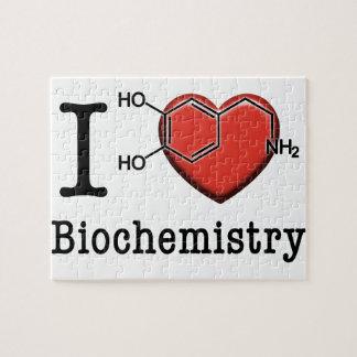 Puzzle Amo la bioquímica