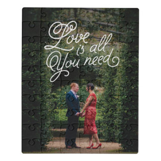 Puzzle Amor en la impresión de la foto del aire