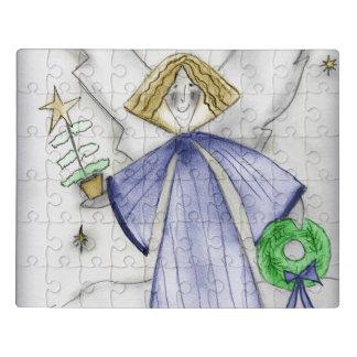Puzzle Ángel azul de la MOD