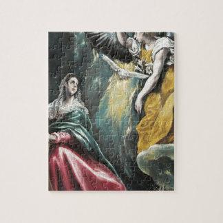 Puzzle Ángel que habla a Maria