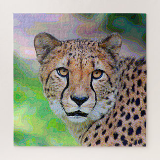 Puzzle AnimalPaint_Cheetah_20171201_by_JAMColors