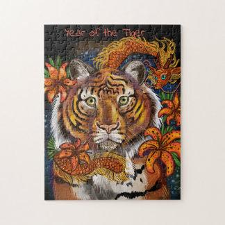 Puzzle Año chino del tigre