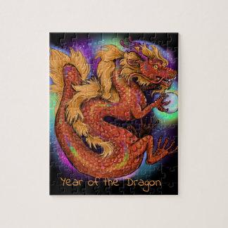 Puzzle Año chino del zodiaco del dragón