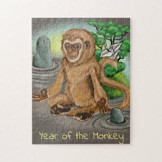 Puzzle Año chino del zodiaco del mono