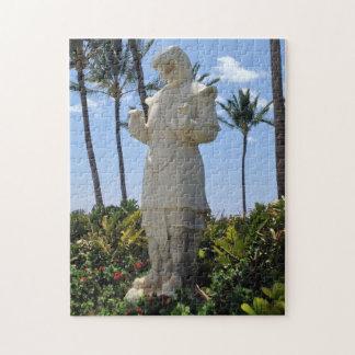 Puzzle Año de la estatua de la serpiente, Waikoloa,