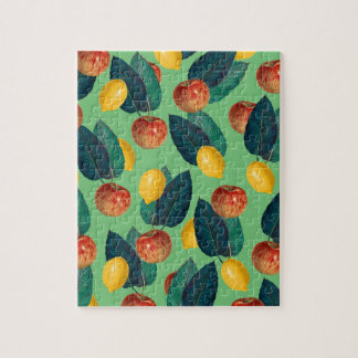 Puzzle aples y verde de los limones