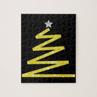 Puzzle Árbol de navidad del brillo