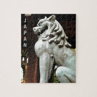 Puzzle Arquitectura japonesa en Tokio, Japón