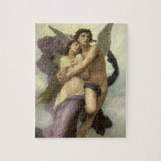 Puzzle Arrebato por Bouguereau, ángeles del Victorian del