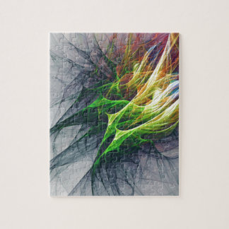 Puzzle Arte abstracto del modelo del fractal en 3d