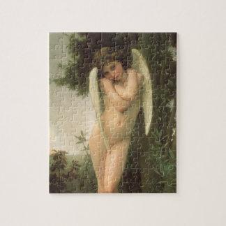 Puzzle Arte del ángel del Victorian del vintage, Cupid