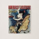 Puzzle Arte Nouveau, bailarín español del vintage del