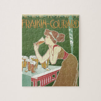 Puzzle Arte Nouveau, cervecería Fraikin-Courard del