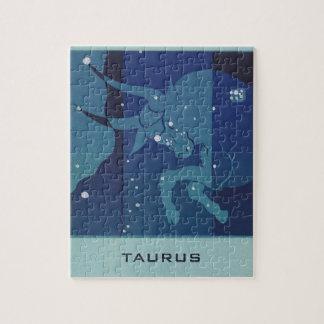 Puzzle Astrología del zodiaco del vintage, constelación