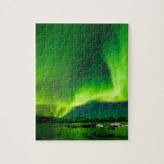 Puzzle Aurora boreal de Islandia