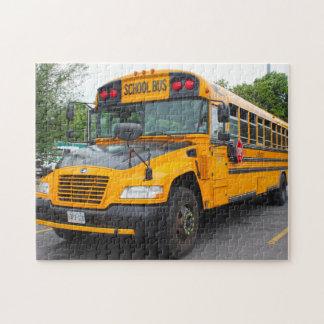 Puzzle Autobús escolar Montreal