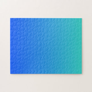 Puzzle Azules turquesas Ombre