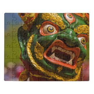 Puzzle Bailarín enmascarado asiático