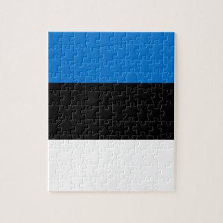 Puzzle ¡Bajo costo! Bandera de Estonia