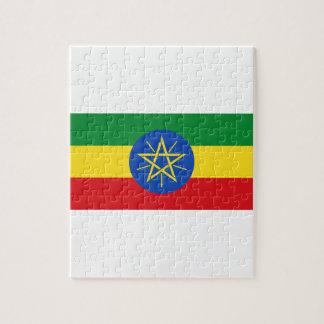 Puzzle ¡Bajo costo! Bandera de Etiopía