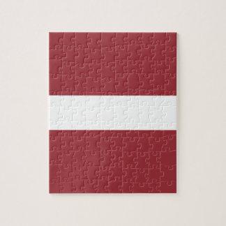 Puzzle ¡Bajo costo! Bandera de Letonia