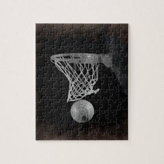 Puzzle Baloncesto de la sepia