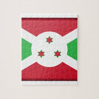 Puzzle Bandera de Burundi