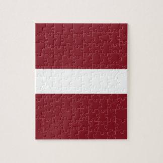 Puzzle Bandera de Letonia