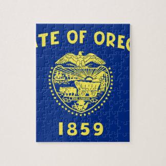 Puzzle Bandera de Oregon