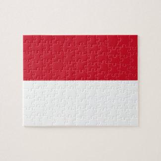 Puzzle Bandera nacional del mundo de Indonesia