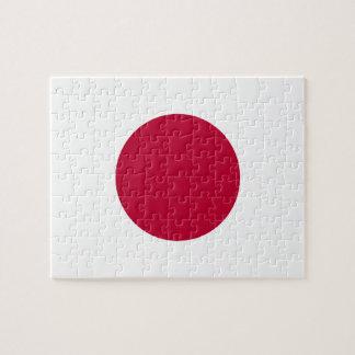 Puzzle Bandera nacional del mundo de Japón