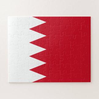 Puzzle Bandera patriótica de Bahrein