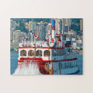 Puzzle Barco Vancouver de la barajadura