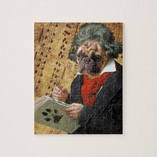 Puzzle Barkthoven - el barro amasado de Beethoven