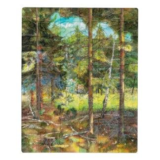 Puzzle Bosque del pino
