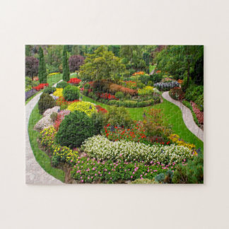 Puzzle Buchart cultiva un huerto Vancouver