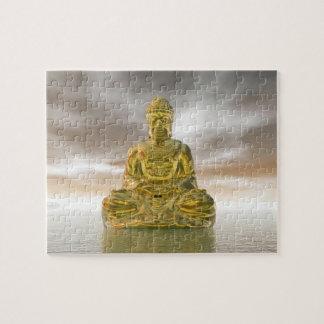 Puzzle Buda de oro - 3D rinden
