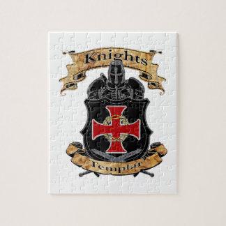 Puzzle Caballeros Templar