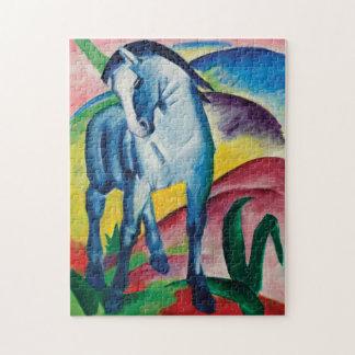 Puzzle Caballo azul I de Franz Marc
