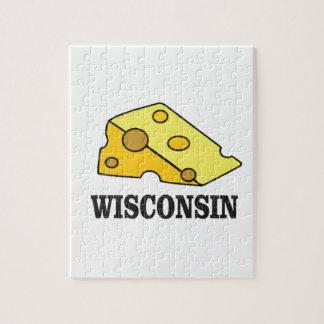 Puzzle Cabeza del queso de Wisconsin