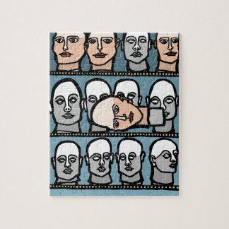 Puzzle Cabezas del maniquí