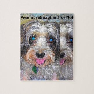 Puzzle cacahuete el perro del rescate