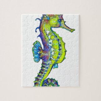 Puzzle Cal manchada de tinta del Seahorse
