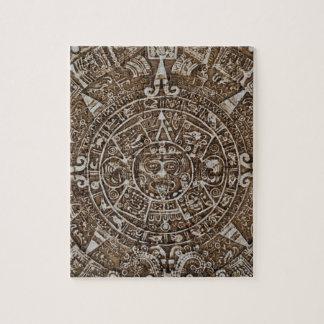 Puzzle Calendario maya