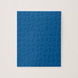 Puzzle Caritativo color azul influyente B17