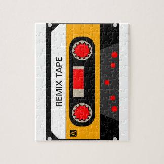 Puzzle Casete de los años 80 del vintage