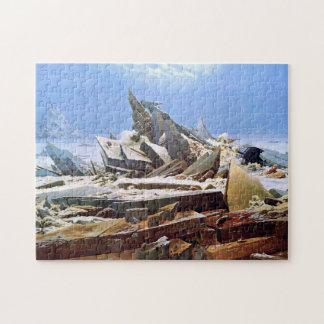 Puzzle CASPAR DAVID FRIEDRICH - el mar del hielo 1824