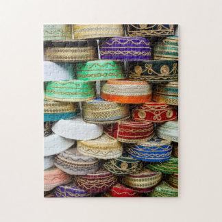 Puzzle Casquillos árabes en el mercado