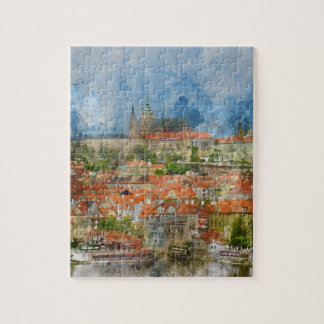 Puzzle Castillo de Praga en República Checa