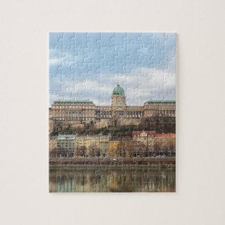 Puzzle Castillo Hungría Budapest de Buda en el día